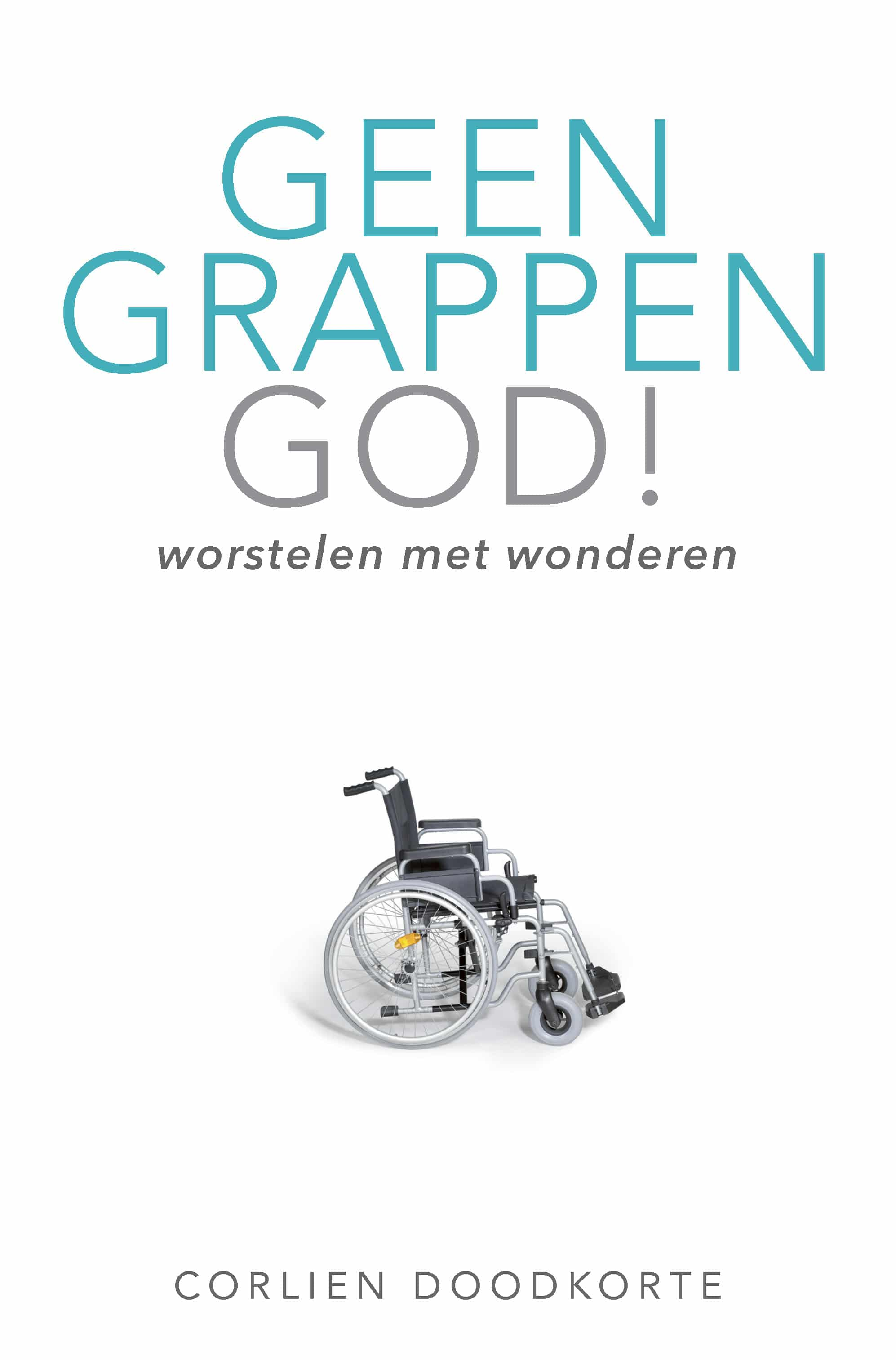 Geen grappen God