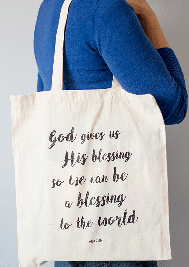 Tas - God gives us His blessing